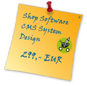 Storedit Shopsoftware mit CMS